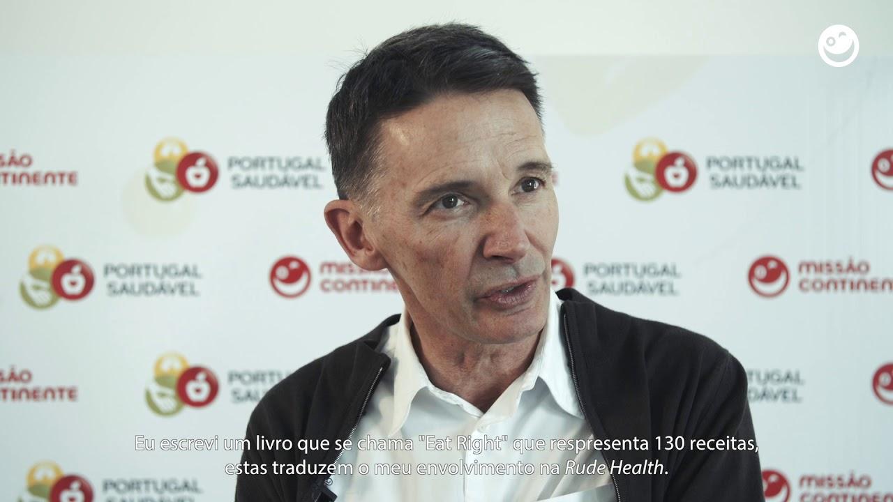 Embedded thumbnail for Conferência Portugal Saudável - Entrevista Nick Barnard